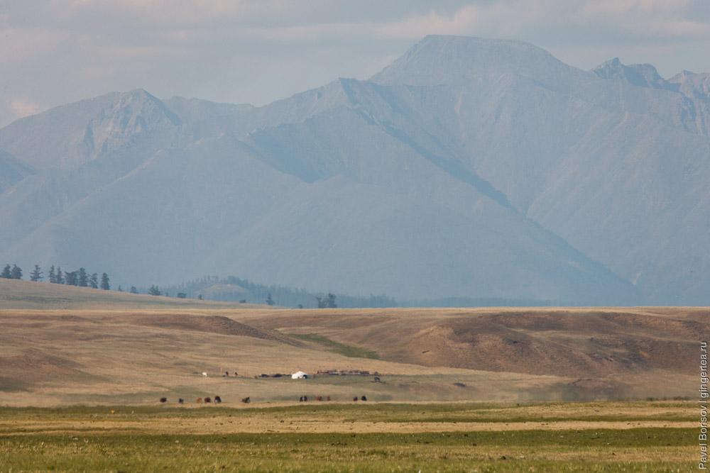 велопоход Россия - Монголия, берег озера Хубсугул