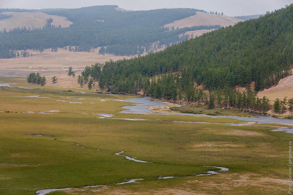 река Эгийн-Гол в Монголии