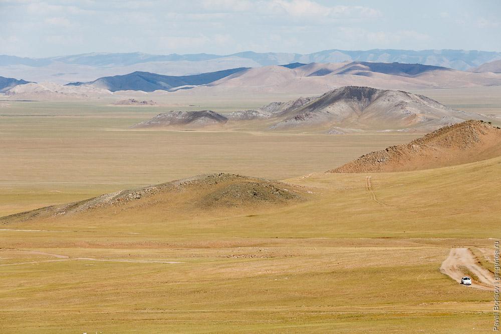велопоход по Монголии