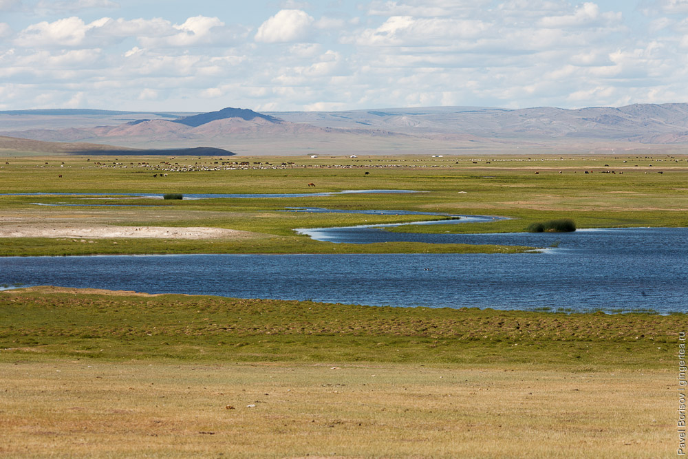 долина в Монголии