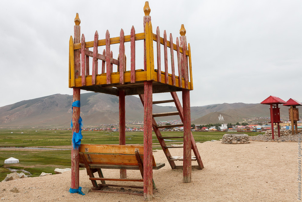 храм в Улиастае, Монголия