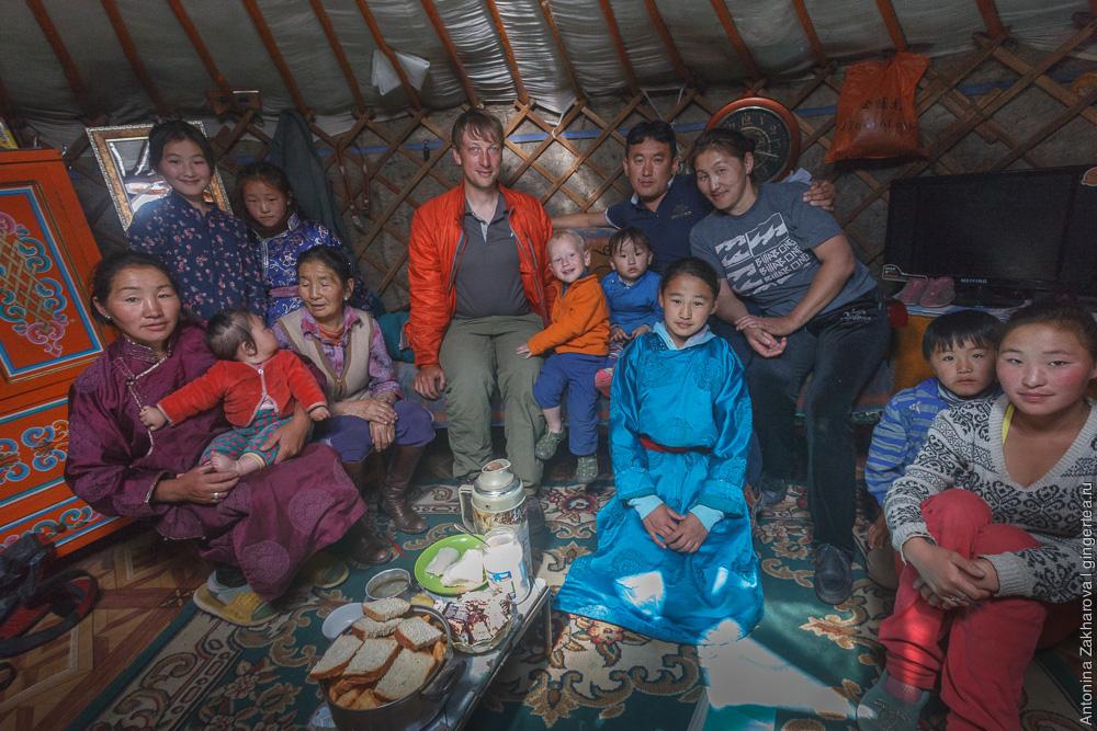 в гостях в монгольской юрте