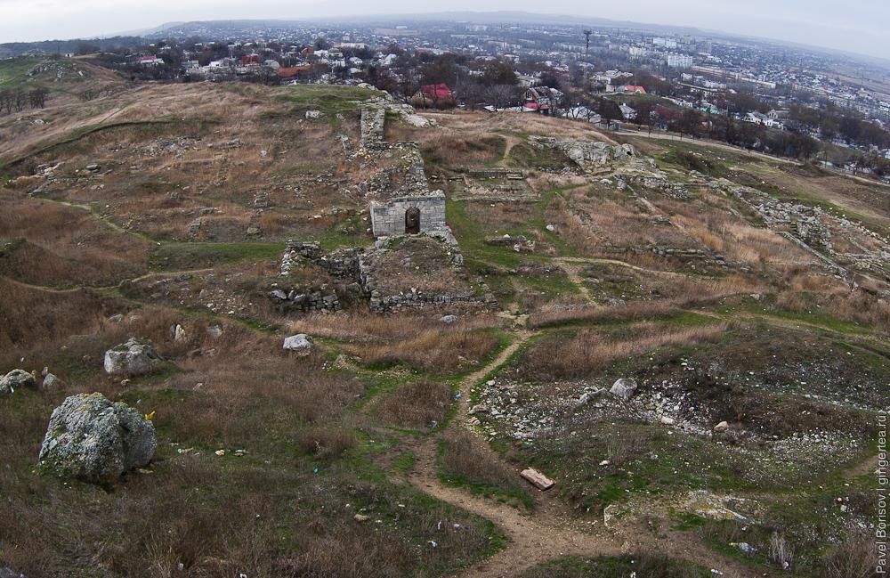 античное городище Пантикапей, Керчь