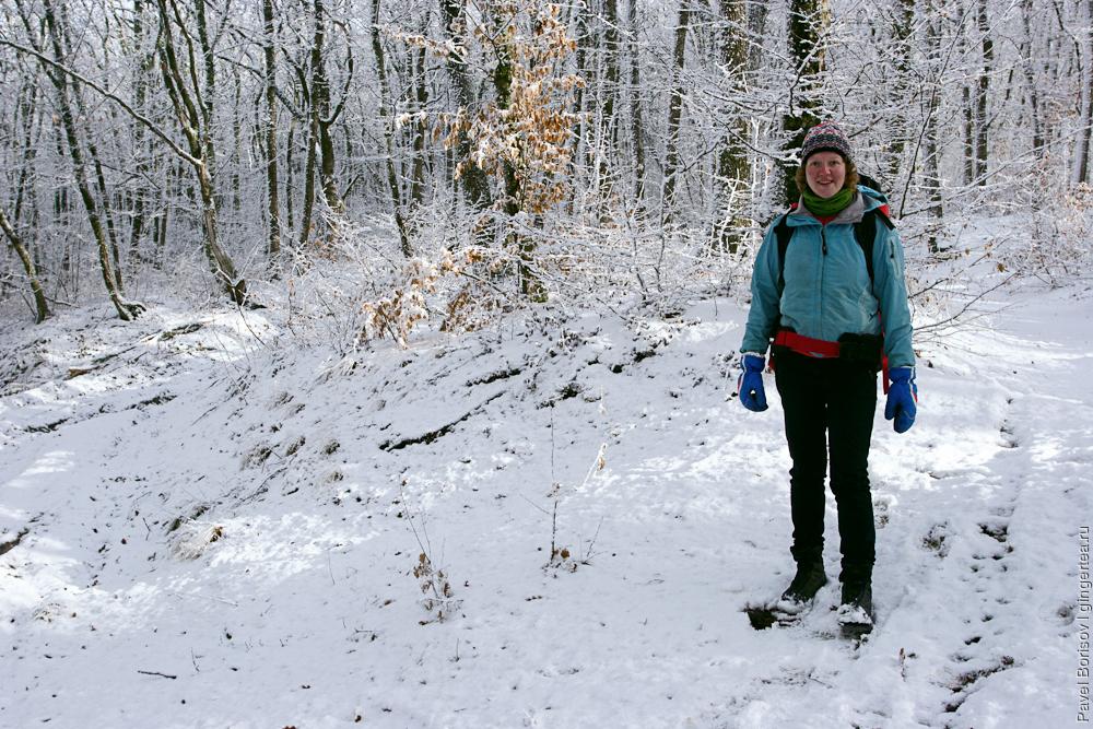 поход в Крыму зимой