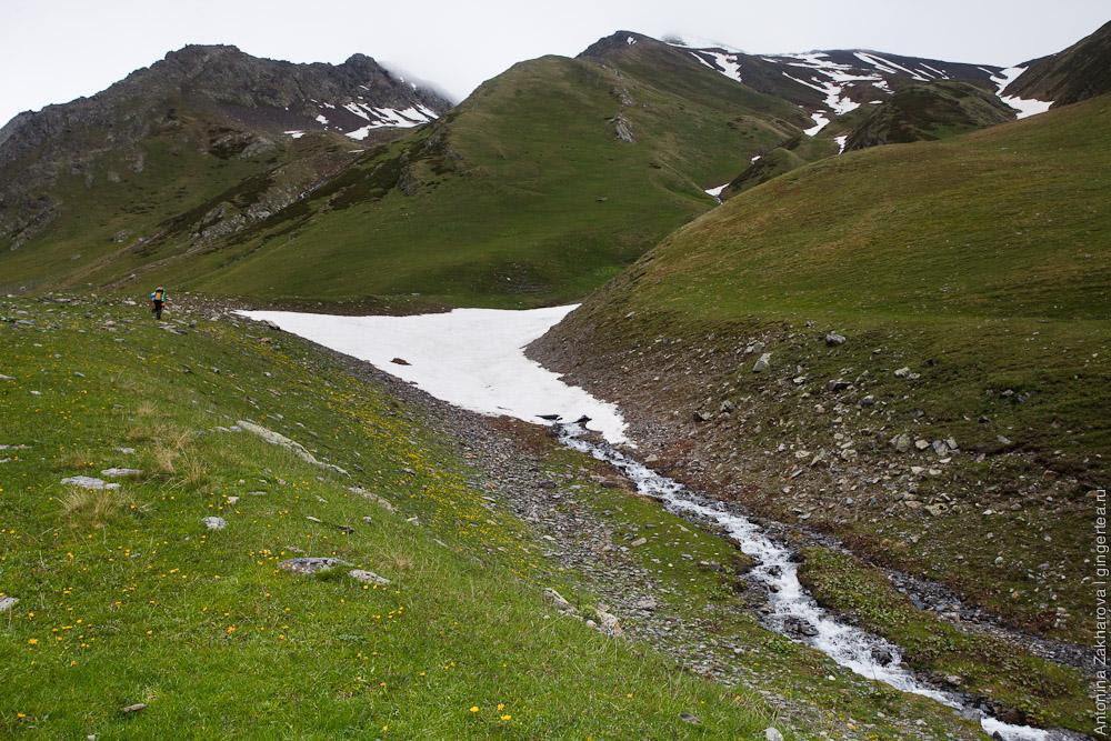 долина реки Цми