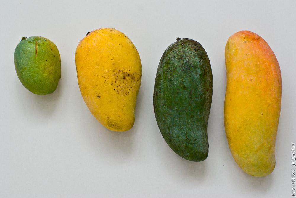 сорта манго в таиланде, Кае Савой, Khaew Sawei, Keo Sevoy, Kyo Savoy, Брам Kай Mё, Brahm Kai Meu, Чок Анан, Chok Anan, Carrie