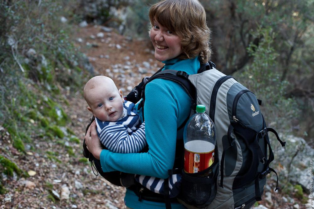 поход с ребенком по Ликийской тропе