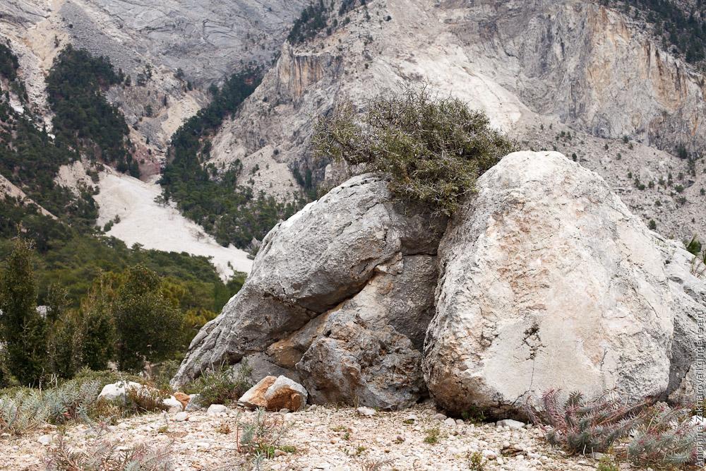 камни на Ликийской тропе