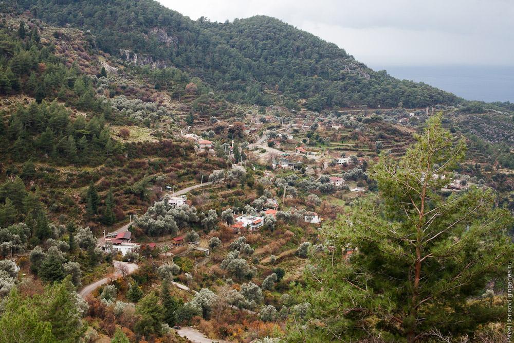 деревня на Ликийской тропе