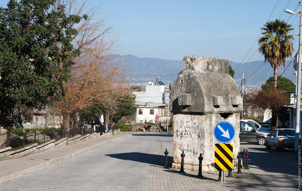 саркофаг в Фетхие